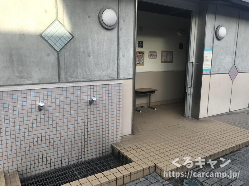 ドルフィンファームしまなみ 海水浴場トイレ
