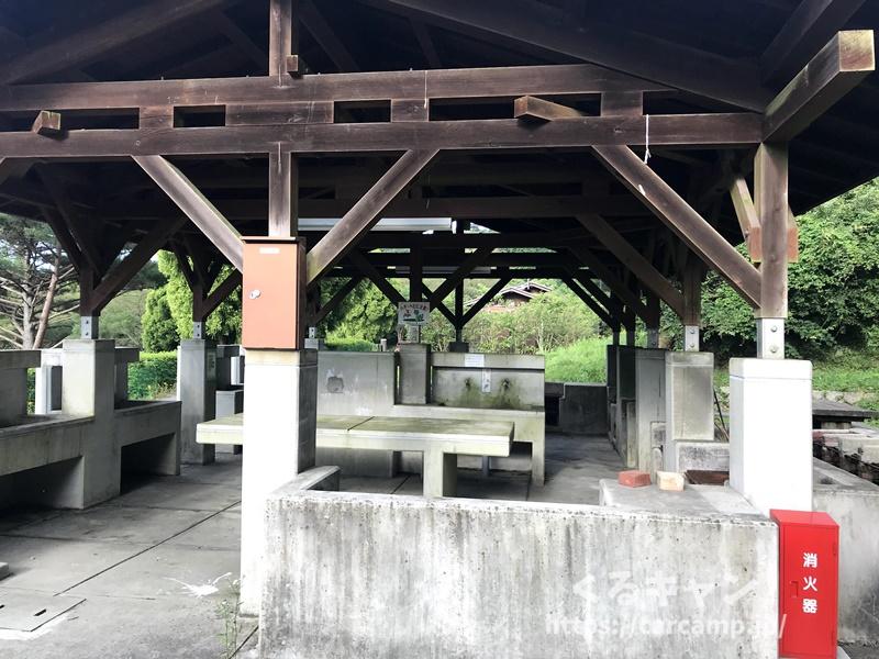 野呂山オートキャンプ場 炊事場